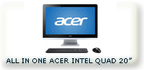 all in one aio acer intel celeron