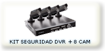 DVR QSEE 8 CAMARAS HD 500GB