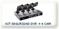 DVR + 4 CAMARAS