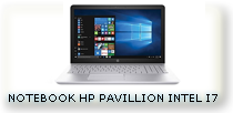 NOTYEBOOK HP PAVILLION INTEL I7