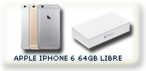APPLE IPHONE 6 64GB LIBRE DE FABRICA