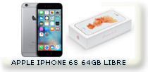 APPLE IPHONE 6S 64 GB LTE 4G CLARO MOVISTAR PERSONAL