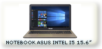 notebook asus vivabook intel i5