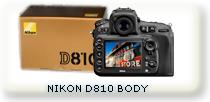 camara reflex NIKON D810