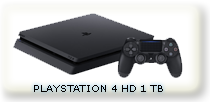 SONY PLAYSTATION 4  HD 1 TB