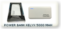 POWER BANK KELYX 5000 MAH