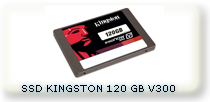 SSD KINGSTON 120GB V300 BLISTER SELLADO ALTA TRANSFERENCIA DATOS 450MB/SEG IDEAL GAMER