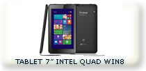 "TABLET 7"" MULTITACTIL QUAD WINDOWS MOVIL 8"
