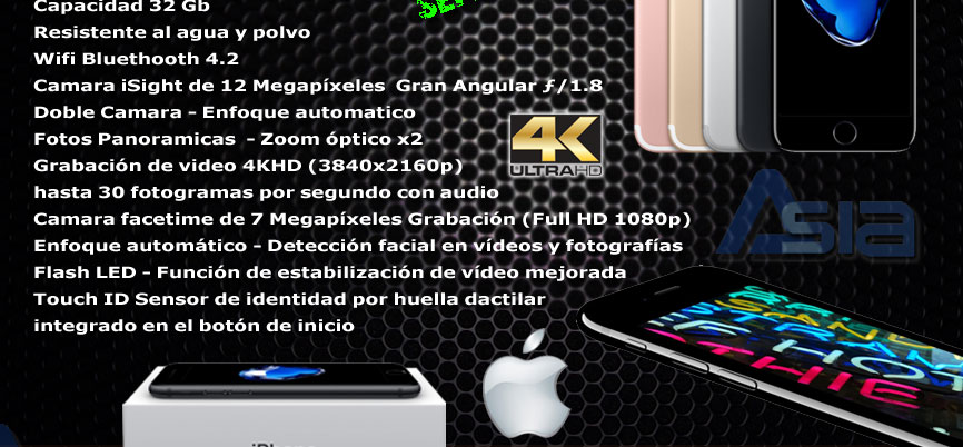 iphone 7 local nuevos